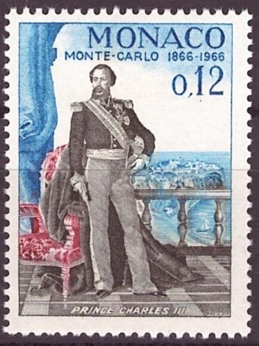 Monaco, Mi 826, **