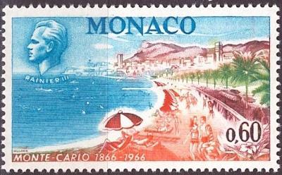 Monaco, Mi 830, **