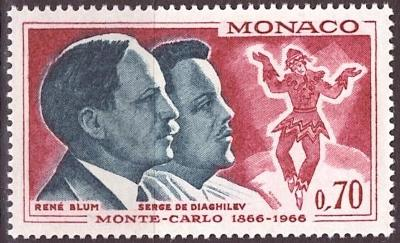 Monaco, Mi 831, **