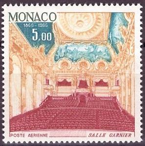 Monaco, Mi 834, **