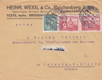 ČSR I - dopis do Švýcarska