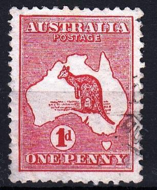 Austrálie 1913 Mi.5 prošla poštou