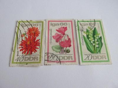 Prodávám známky DDR 1966, IGA-Výstava zahradních květin Erfurt