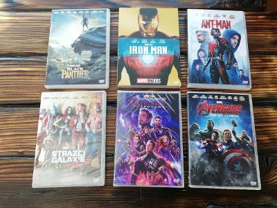 Marvel dvd 11ks