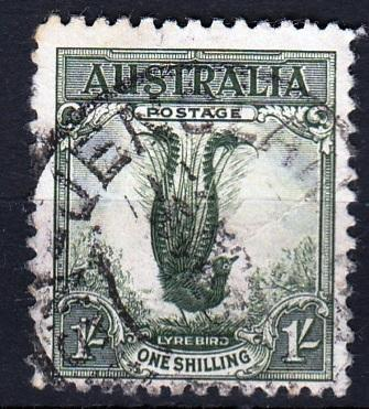 Austrálie 1932 Mi.114 prošla poštou