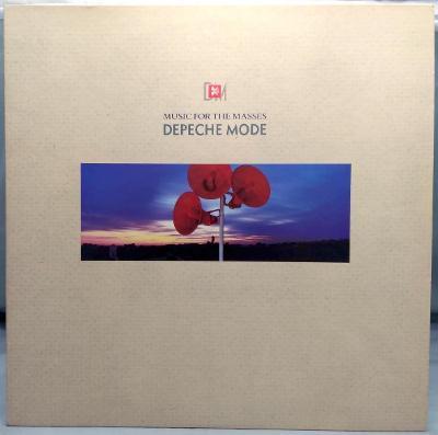 Depeche Mode – Music For The Masses 1987 UK Vinyl LP 1.press