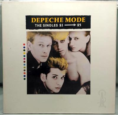 Depeche Mode – The Singles 81-85 1985 Germany Vinyl LP Grey Vinyl