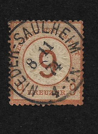 Deutsches Reich:Mi.Nr. 30. razidko