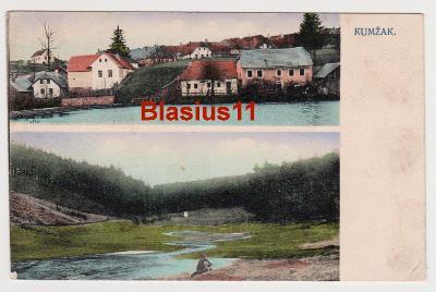 Kunžak - okr. Jindřichův Hradec - 1918