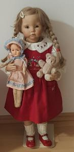 Sběratelská panenka 70 cm krásná holčička