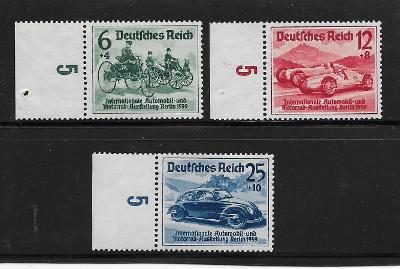 Deutsches Reich:Mi.Nr. 686-688  **