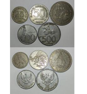 SADA MINCÍ INDONÉSIE, 5 Ks, konvolut, KAŽDÁ JINÁ, Indonésie
