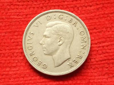 Anglie 2 schilling 1951