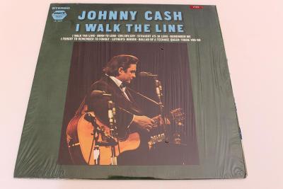 Johnny Cash - I walk the Line -Top stav- orig. USA 1971 LP