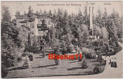 Rumburk - sanatorium Frankenstein - okr. Děčín - 1909