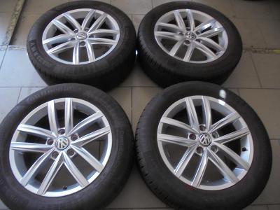 205 55 16 letní 91V+16 alu VW Golf 7, Caddy,Škoda Octavia 3,5x112,ET46