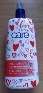 Výprodej - Vyživující tělové mléko s kakaovým máslem 750 ml (AVON)