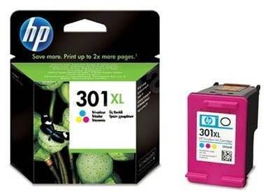 Nefunkční a pouze pro podnikatele: HP CH564EE č. 301XL barevná