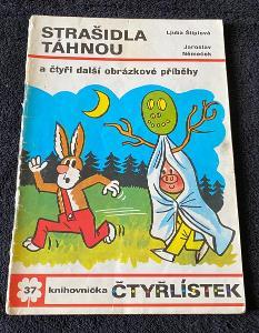 Čtyřlístek č. 37 - Strašidla táhnou - pěkný (rok 1974)
