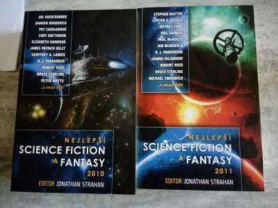 Nejlepší Science Fiction a Fantasy 2010 a 2011