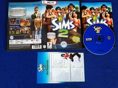 PC - THE SIMS 2 - CZ (retro 2004)