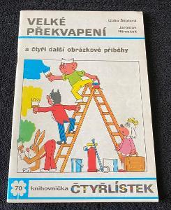 Čtyřlístek č. 70 - Velké překvapení - pěkný (rok 1978)