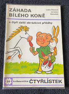 Čtyřlístek č. 35 - Záhada bílého koně - moc pěkný (rok 1974)