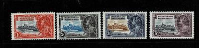 Bechuanaland 1935 Mi 94/7* - Nr. 120