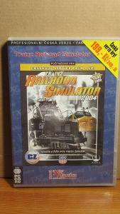 PC CD ROM TRAINZ RAILROAD SIMULATOR 2004