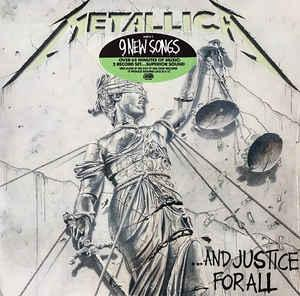 METALLICA -  ...And Justice For All  CD  - 1988