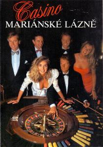 CASINO MARIÁNSKÉ LÁZNĚ reklamní prospekt k jeho otevření # 1990