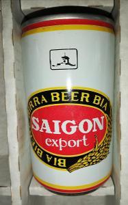 Starší pivní plechovka - Vietnam