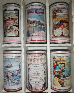 Starší série pivních plechovek - Španělsko