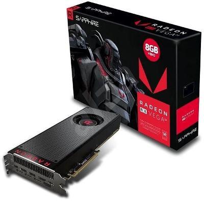 Nefunkční a pouze pro podnikatele: SAPPHIRE Radeon RX Vega 64 8G HBM2