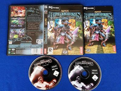 PC - MAGIC THE GATHERING BATTLEGROUNDS  (retro 2003) Top