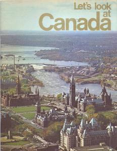 KANADA reklamní prospekt v angličtině # 1970
