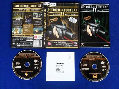 PC - SOLDIER OF FORTUNE 2 GOLD EDITION (retro 2003) Top