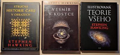 Kolekce knih Stephena Hawkinga