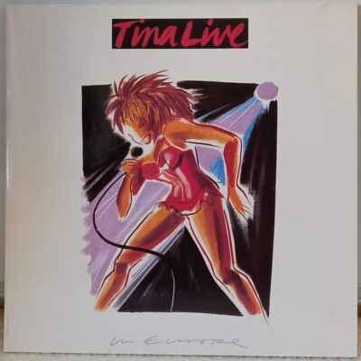 2LP Tina Turner - Tina Live In Europe, 1988 EX
