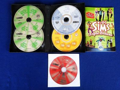 PC - THE SIMS TRIPLE DELUXE (retro 2004) Top
