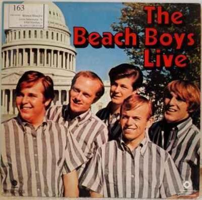LP The Beach Boys - Live EX