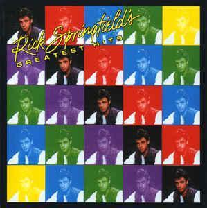 RICK SPRINGFIELD - Greatest Hits - CD 1989 rock
