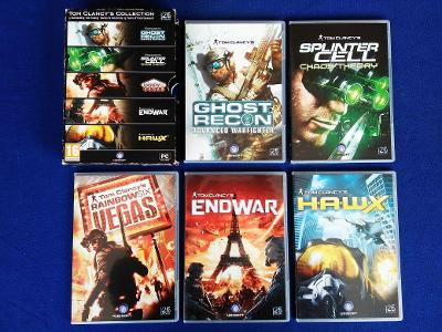 PC - TOM CLANCY´S COLLECTION - 25 Year UBISOFT (retro 2011) Top