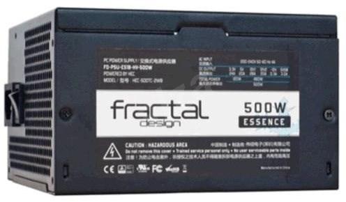 Nefunkční a pouze pro podnikatele: VYROBA Fractal Design Essence 500W