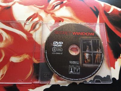 DVD TAJEMNÉ OKNO (Depp) – holý disk