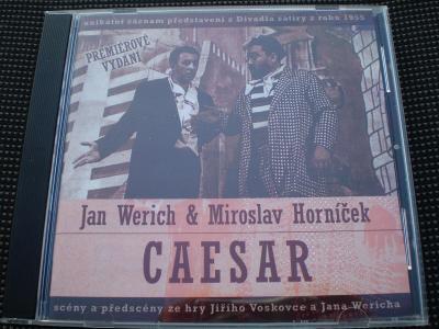Jan Werich & Miroslav Horníček - Caesar, CD, stav - jako nové