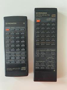 2x Pioneer dálkový ovladač více viz foto