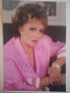 Autogram ... Jiřina BOHDALOVÁ  ...
