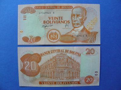 20 Bolivianos L.1986(2005) Bolivia - P229 - UNC - /I237/