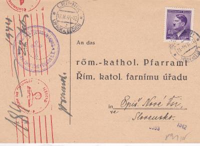 Církevní Lipník nad Bečvou 1944 (Přerov) - Slovensko, Spišská Nová Ves